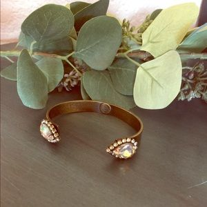Loren hope crystal cuff bracelet
